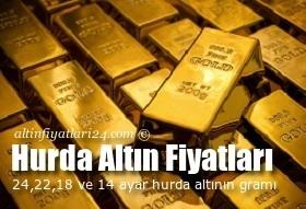 Hurda Altın fiyatları ve hesaplama